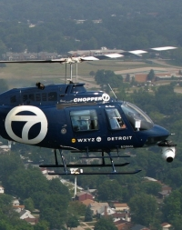 Bell 206B - Craig Smith Chopper 7 WXYZ Detroit - Click to visit.