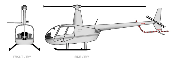 Robinson R44 Views